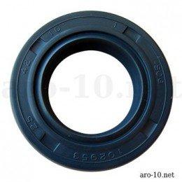 Oil seal A 25x42x10 TC Blu